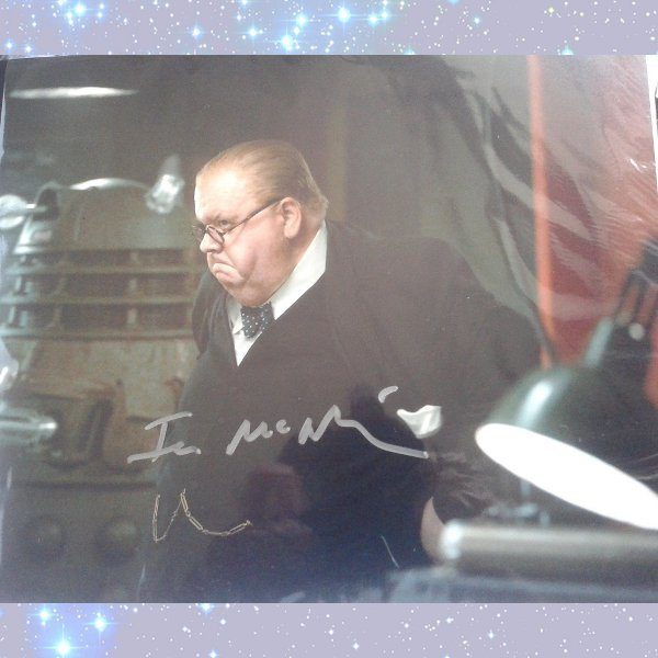 Ian McNeice signed Dr Who photo | Signed By The StarsIan Mcneice Harry Potter